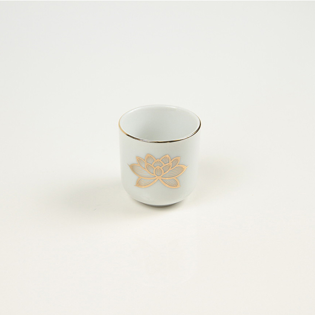 茶湯器 上金ハス 1.6寸